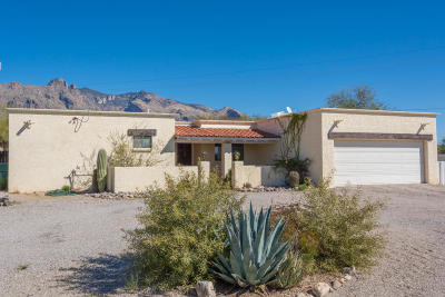 Tucson Single Family Home For Sale: 6400 N Camino Padre Isidoro