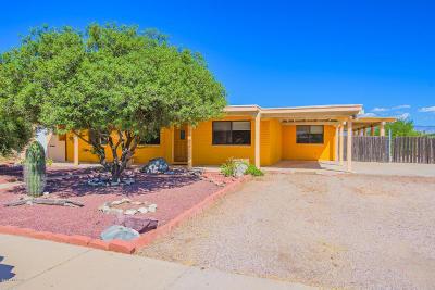 Tucson Single Family Home Active Contingent: 7701 E Persimmon Drive