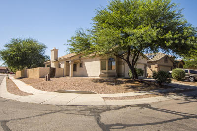 Pima County Single Family Home Active Contingent: 14992 S Theodore Roosevelt Way