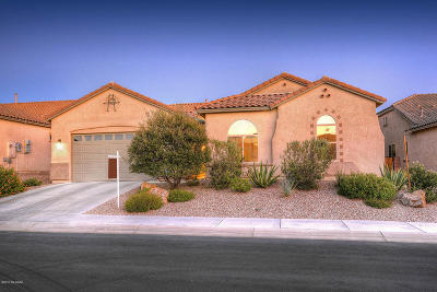 Marana Single Family Home Active Contingent: 12372 N Pathfinder Drive