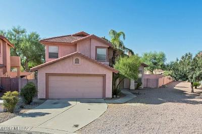 Tucson Single Family Home For Sale: 9921 N Sky Ridge Place