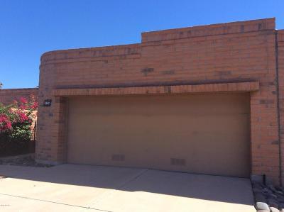 Tucson Townhouse For Sale: 4548 N Avenida Ronca