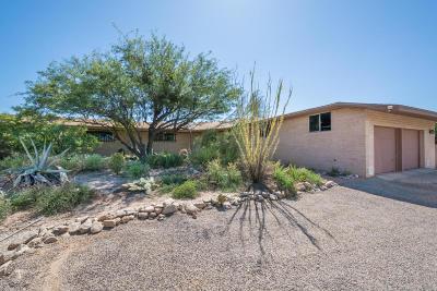 Tucson Single Family Home Active Contingent: 6920 N Camino De Las Candelas