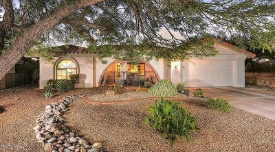 Oro Valley Single Family Home Active Contingent: 14541 N Alamo Canyon Drive