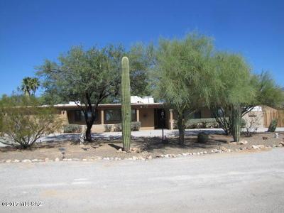 Tucson Single Family Home For Sale: 7720 N Placita De Posada