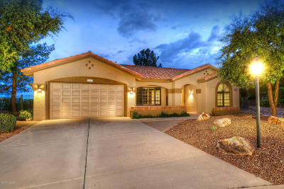 Oro Valley Single Family Home Active Contingent: 14453 N Choctaw Drive