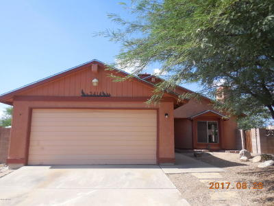 Tucson Single Family Home For Sale: 3414 S Giovanna Drive