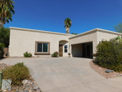 Tucson Single Family Home For Sale: 2640 W Camino De La Joya