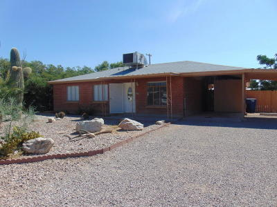 Tucson Single Family Home For Sale: 5812 E 33rd Street