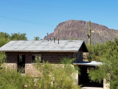 Tucson AZ Single Family Home For Sale: $144,000
