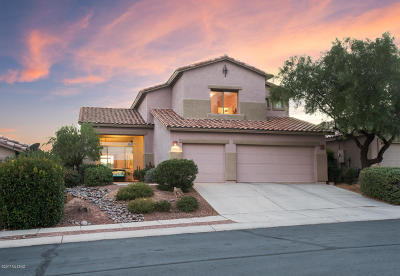 Oro Valley Single Family Home Active Contingent: 13835 N Bushwacker Place