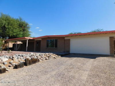 Oro Valley Single Family Home For Sale: 9180 N Rancho Feliz Drive