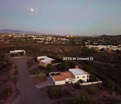 Tucson Single Family Home For Sale: 2575 W Criswell Court