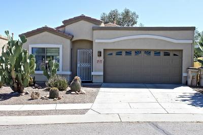 Pima County Single Family Home Active Contingent: 162 E Corte Rancho Encanto