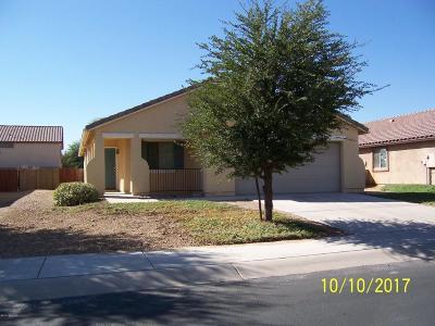 Marana Single Family Home For Sale: 11299 W Combine Drive