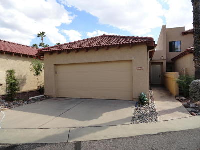 Pima County Townhouse For Sale: 8444 E Agape Drive