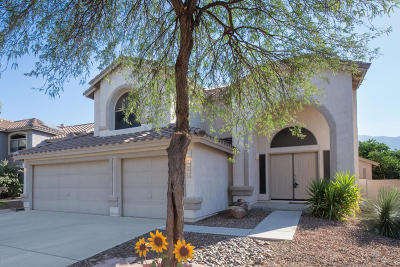 Oro Valley Single Family Home For Sale: 13568 N Wide View Drive