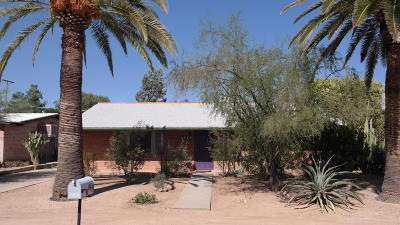 Tucson Single Family Home For Sale: 4419 E Elmwood Street