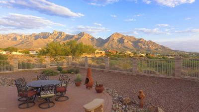 Oro Valley Single Family Home For Sale: 62 E Morning Ridge Place
