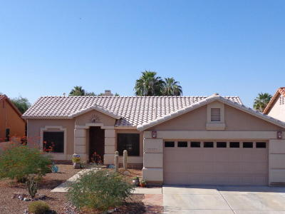 Tucson Single Family Home For Sale: 7262 W Silver Sand Drive