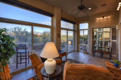 Pima County Single Family Home Active Contingent: 5368 W Winding Desert Drive