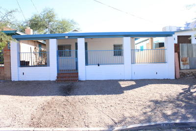 Tucson Single Family Home For Sale: 131 W 19th Street