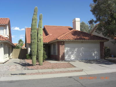Tucson Single Family Home For Sale: 7863 S Castle Bay Street E