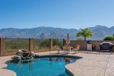 Oro Valley Single Family Home For Sale: 12372 N Mount Bigelow Road