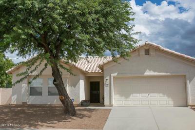 Tucson Single Family Home For Sale: 10092 E Paseo De La Masada
