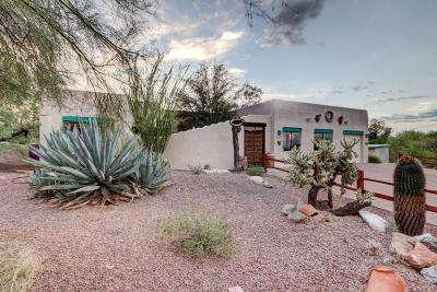 Tucson Single Family Home For Sale: 4825 N Desert Tortoise Place