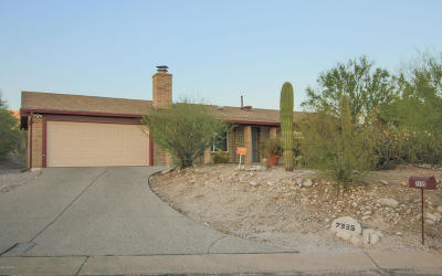 Tucson Single Family Home For Sale: 7335 E Wandering Road