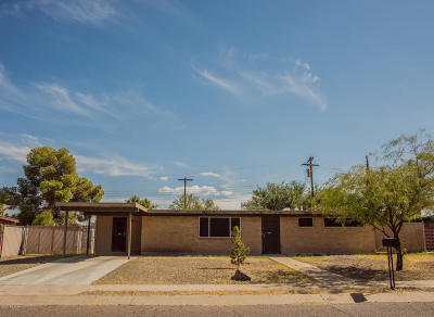 Tucson Single Family Home For Sale: 7217 E Eastview Drive