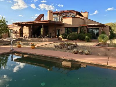 Cochise County Single Family Home For Sale: 8018 E Diamondback Road