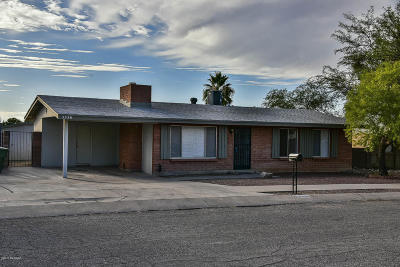 Tucson Single Family Home For Sale: 3326 S Santee Avenue