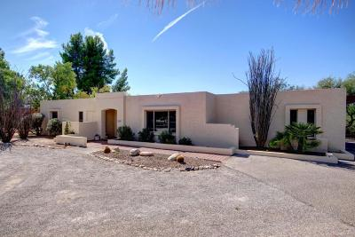 Tucson Single Family Home Active Contingent: 6800 E Ventana Place