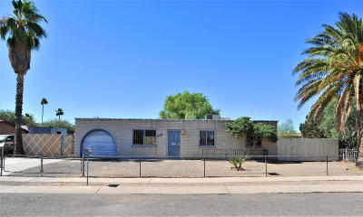 Tucson AZ Single Family Home For Sale: $145,000