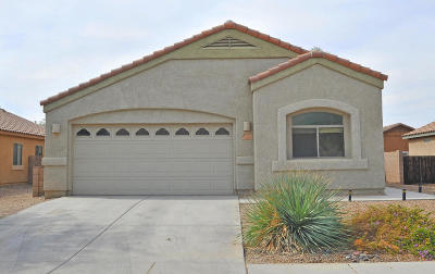 Marana Single Family Home Active Contingent: 12703 N Desert Farm Land Way