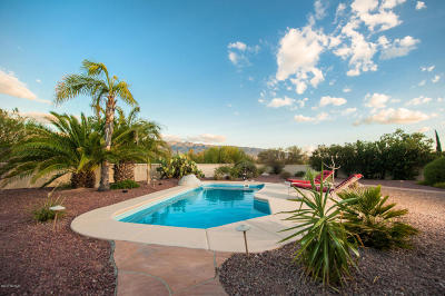 Pima County Single Family Home For Sale: 2424 N Cavalry Trail