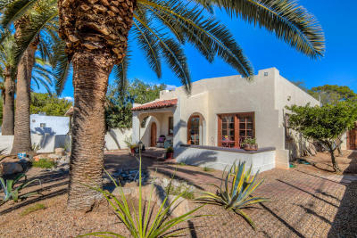 Tucson Single Family Home For Sale: 526 N Sawtelle Avenue