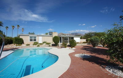 Tucson Single Family Home For Sale: 7631 N Cerco De Los Amigos