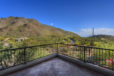 Canyon Pass At Dove Mountain Single Family Home For Sale: 14586 N High Dove Place