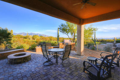 Marana Single Family Home Active Contingent: 5033 W Desert Chicory Place