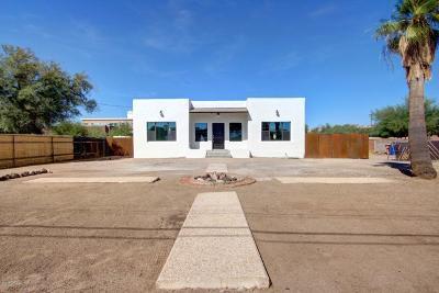 Tucson Single Family Home For Sale: 830 W Alameda Street