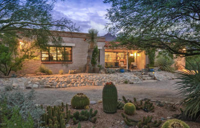 Tucson Single Family Home Active Contingent: 6121 N Mina Vista