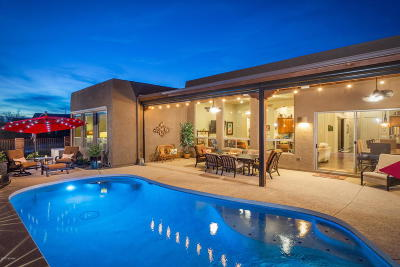 Marana Single Family Home Active Contingent: 4827 W New Shadow Way