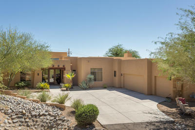 Oro Valley Single Family Home Active Contingent: 1161 W Saddlehorn Place