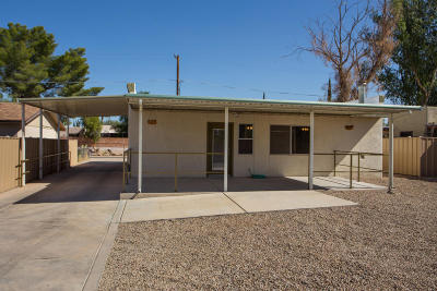 Single Family Home For Sale: 3611 N Cactus Boulevard