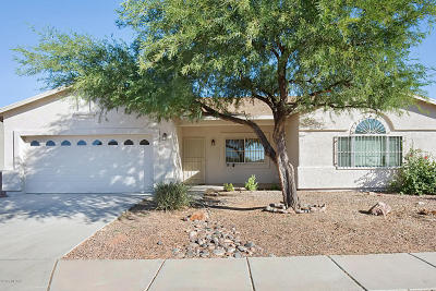Tucson Single Family Home Active Contingent: 7600 W Fireside Drive
