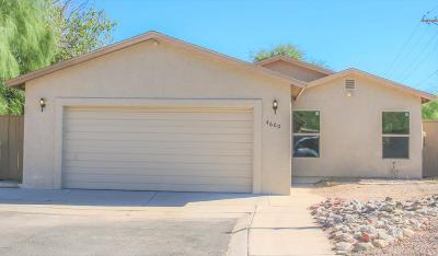 Tucson Single Family Home For Sale: 4600 N Brightside Drive