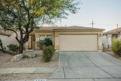 Tucson Single Family Home Active Contingent: 7861 E Rhiannon Drive
